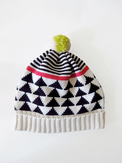 All for Everyone - Triangle Stripe Triangle Hat