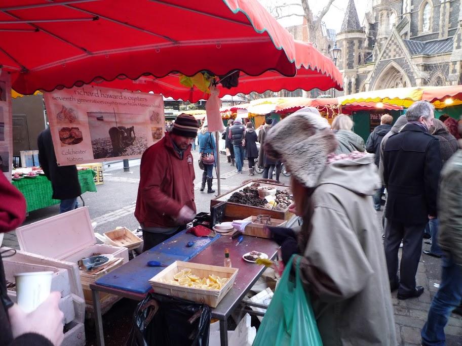 Seb Kirby Take No More Borough Market photo 1