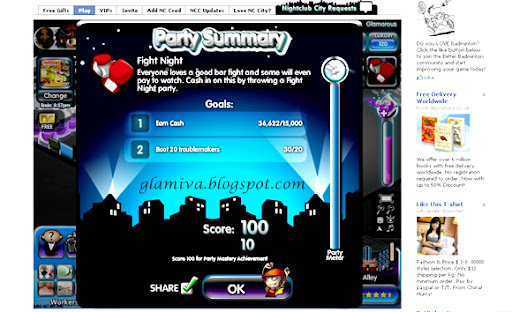 facebook nightclub city fight night party help tips
