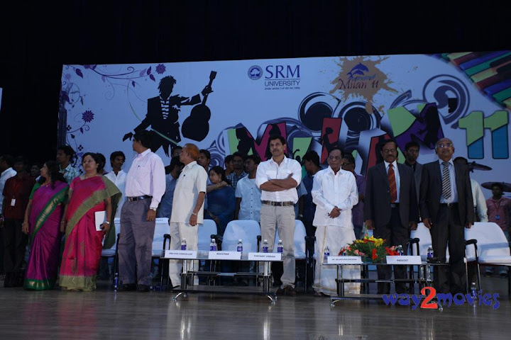 Vikram At SRM University 'Milan' Event