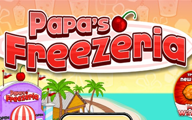 play papas freezeria