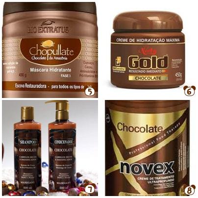 Resultado de imagem para hidratação cabelos com chocolate