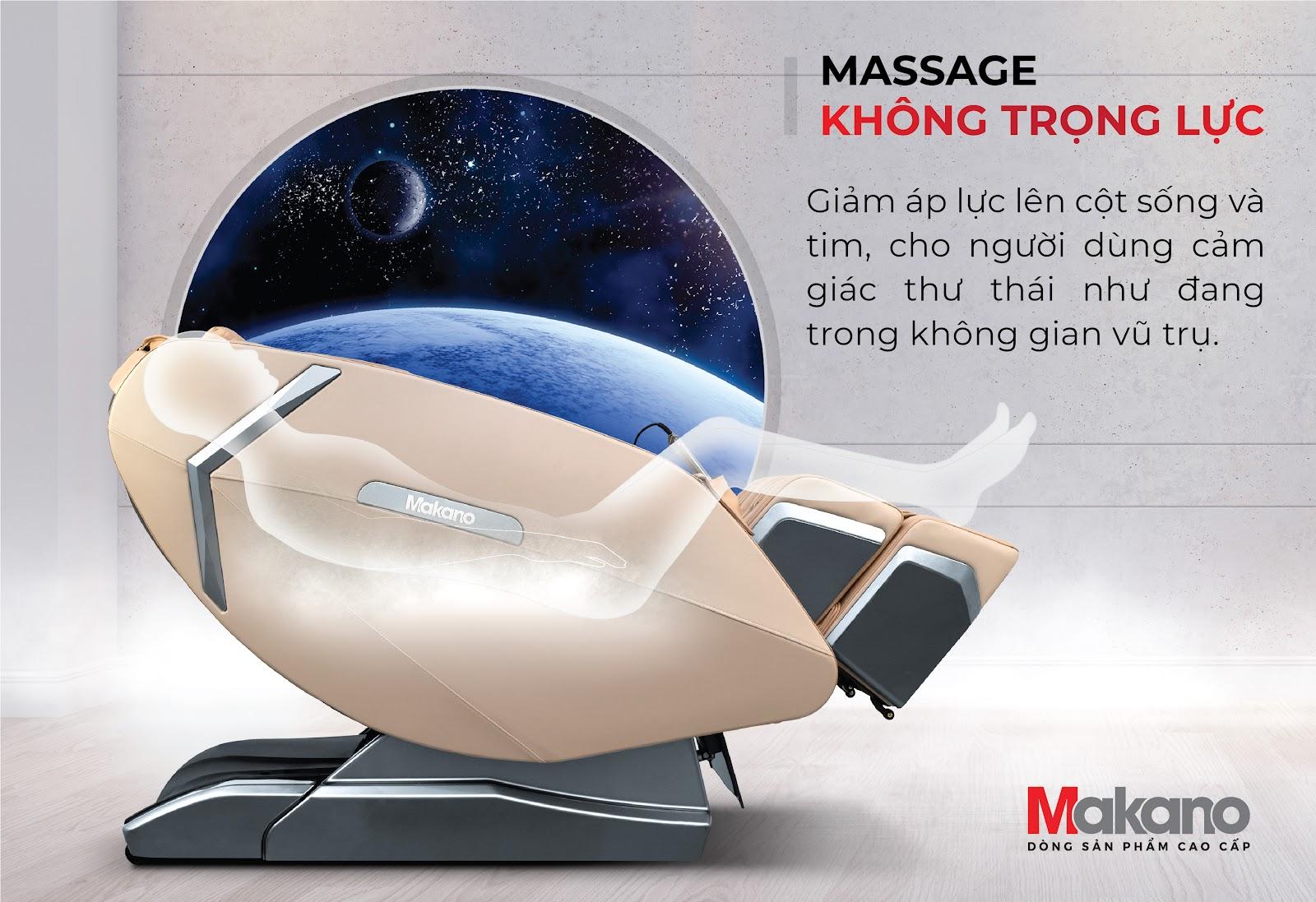 chế độ massage không trọng lực
