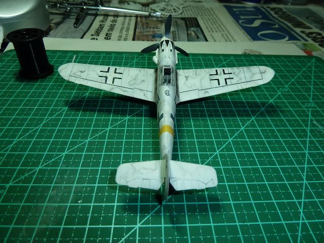 Olá! Gostaria de contribuir com o forum. Segue Bf 109G-6 ... P1010208