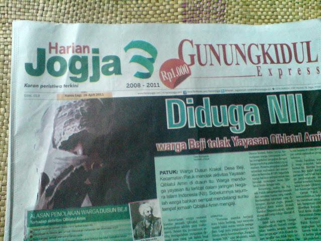 Harian Jogja Express Gunungkidul Edisi 28 April 2011