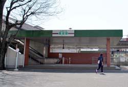 高坂駅西口風景