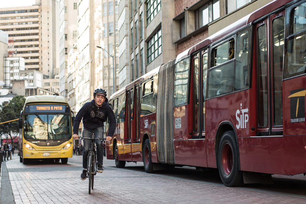 Novo plano de ordenamento territorial de Bogotá já incorporou o conceito de cidade de 15 minutos. (Fonte: Shutterstock)