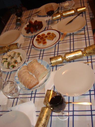 Christmas dinner 2008