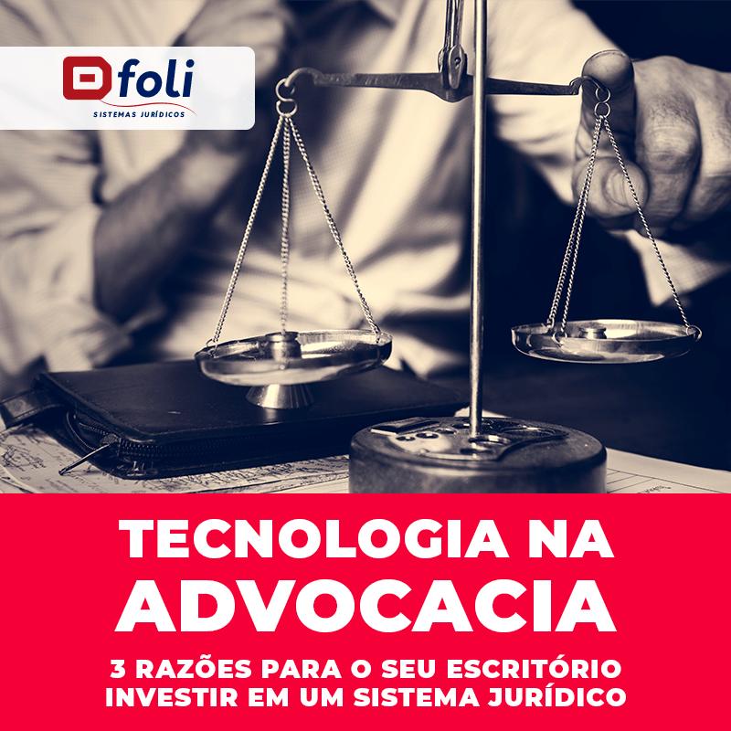 tecnologia na advocacia