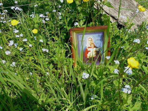 Божия Матерь всегда с нами в крестном ходе. 30 апреля 2011, Унтербах-Герресхайм. Фото: Алексей Потупин
