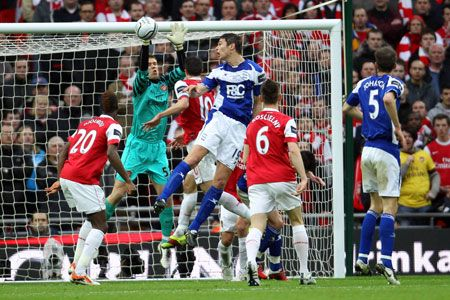 Zigic, Arsenal - Birmingham City