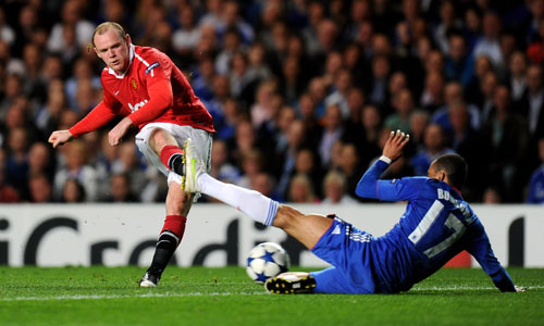 Rooney, Chelsea - Manchester United