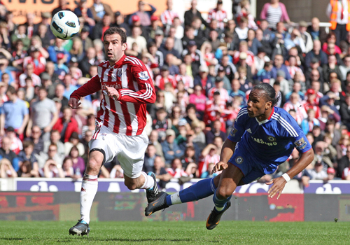 Drogba header, Stoke City Chelsea