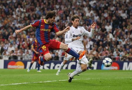 Messi, Real Madrid - Barcelona