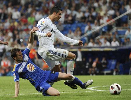 Cristiano Ronaldo, Real Madrid - Getafe