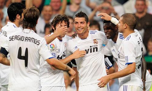 Cristiano Ronaldo, Real Madrid - Almeria