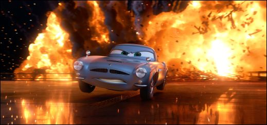 Cars 2 Finn McMissile Michael Caine