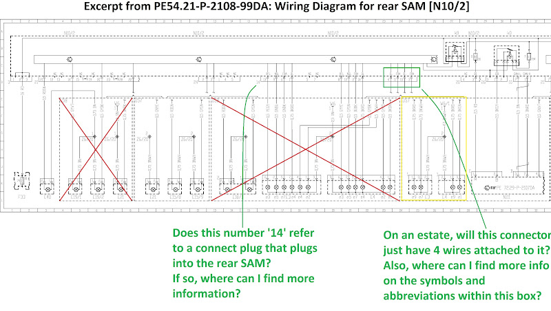 SOLVED Help with wiring diagram intermittent rear lights