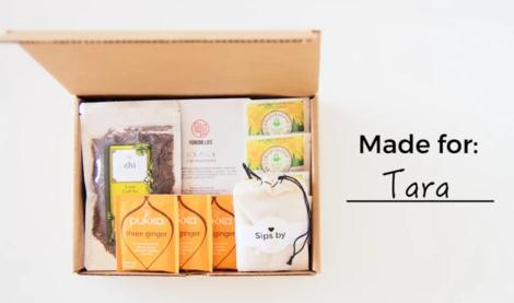 sips by teas subscription box