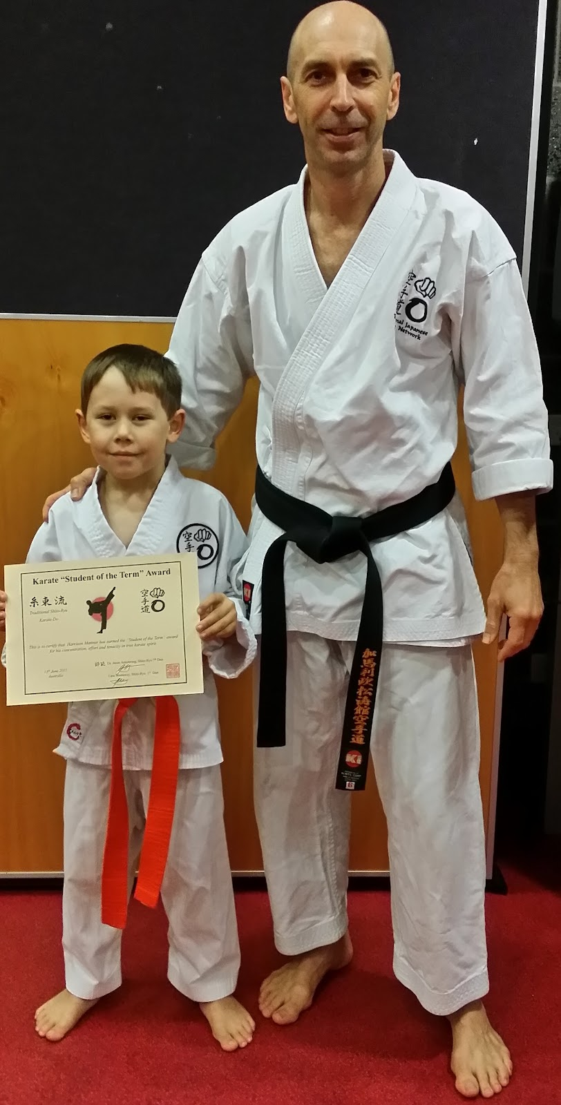 Harrison student of the term karate.jpg