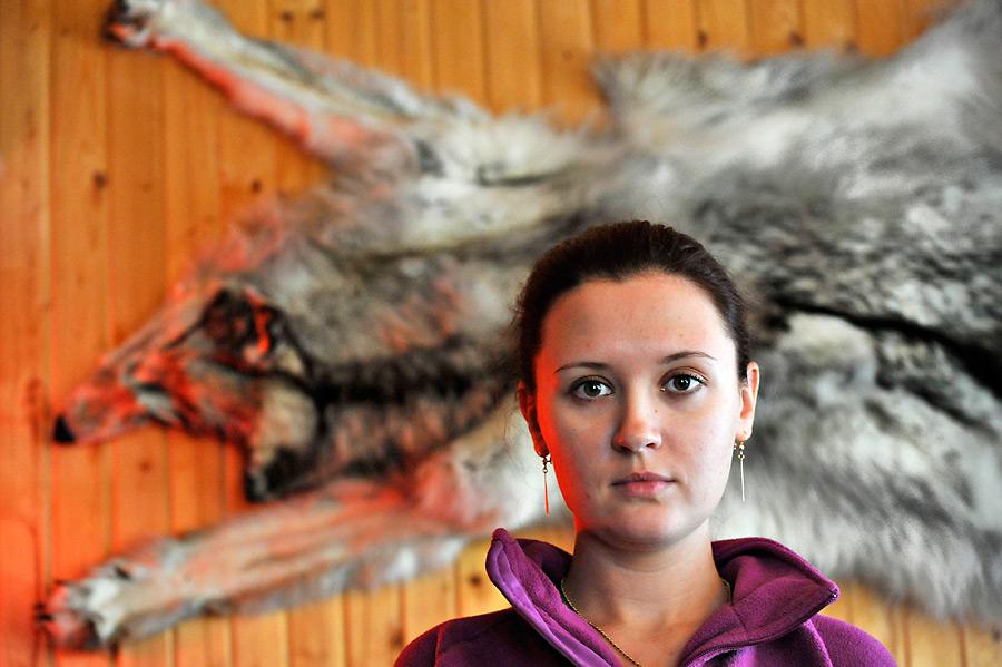 Masha and the Wolf. Photo by Eugene Gorny