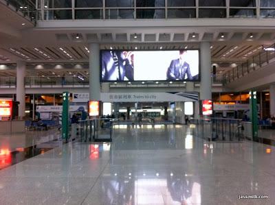 Hong Kong Airport Express Train