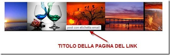 widget slideshow immagini con link