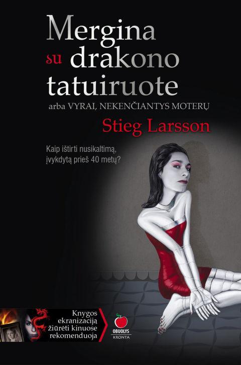 STIEG LARSSON - Mergina su drakono tatuiruote