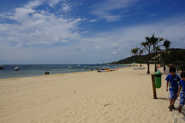 砂浜・タンガルーマ・ワイルドドルフィンリゾート