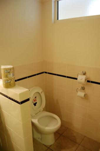 タンガルーマ・ワイルドドルフィンリゾートのトイレの写真
