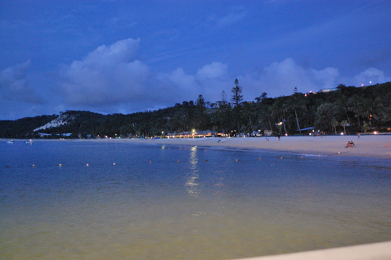 夕闇のタンガルーマ・ワイルドドルフィンリゾートの写真