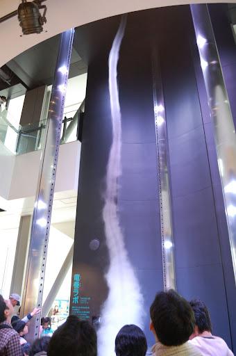 名古屋市科学館・普通の竜巻の写真