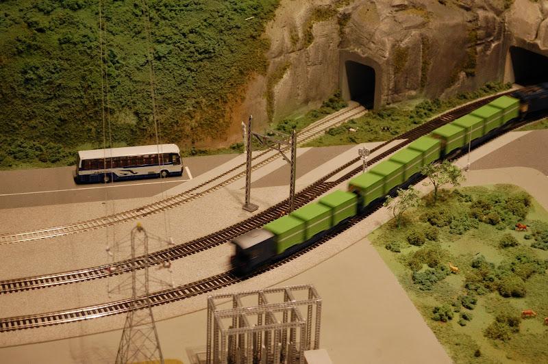 名古屋市科学館・貨物列車の写真