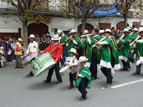 Anniversaire de l'Etat plurinational bolivien