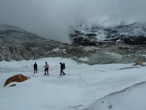 Alex et Phil sur le glacier