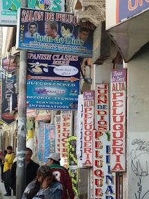 Une autre rue des coiffeurs
