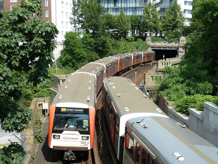 Hệ thống đường sắt ở Đức rất phát triển