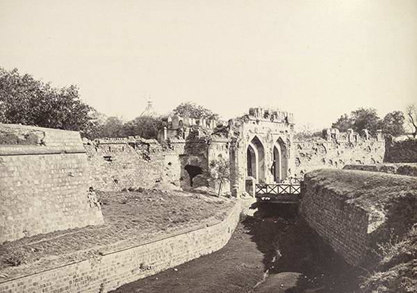 Old India Photos - Kashmiri Gate, Delhi, 1857