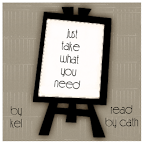 just take what you need podcover