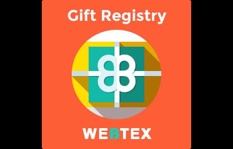 magento gift registry