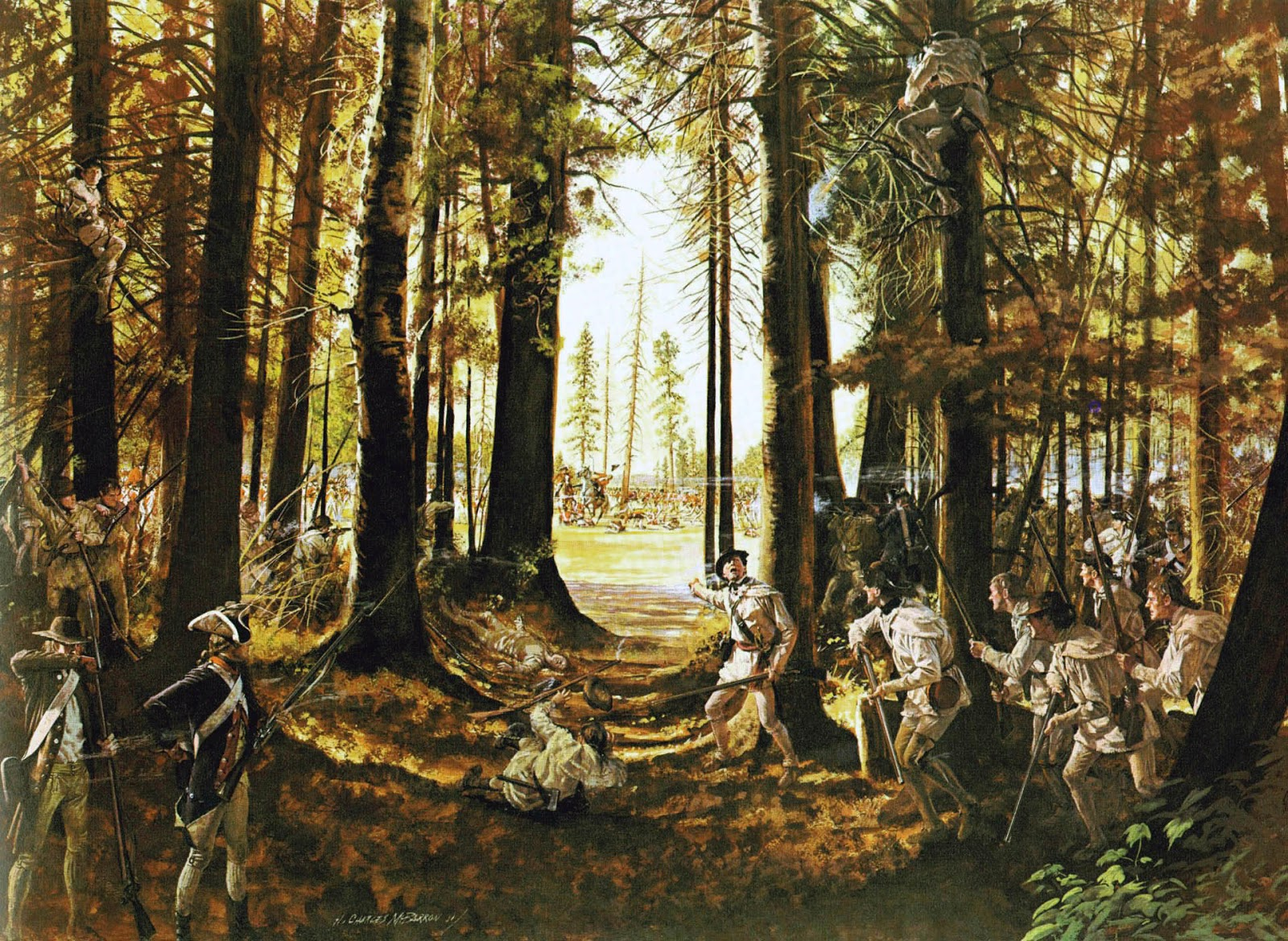 File:Riflemen at Saratoga.jpg