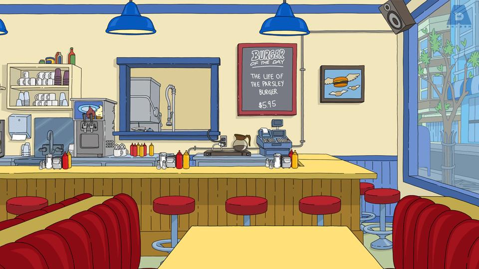funny zoom background photos - bob's burgers