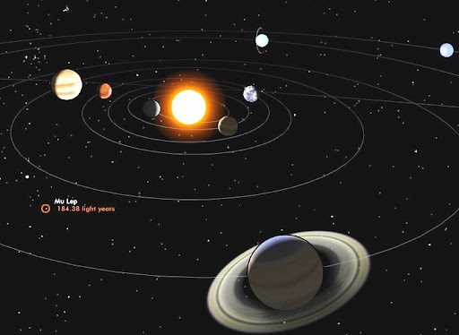 Interactive 3D model of Solar System Planets and ...