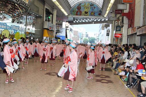 本祭2日目 帯屋町筋演舞場  2     D-15921