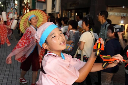 本祭2日目 帯屋町筋演舞場  91     D-16076