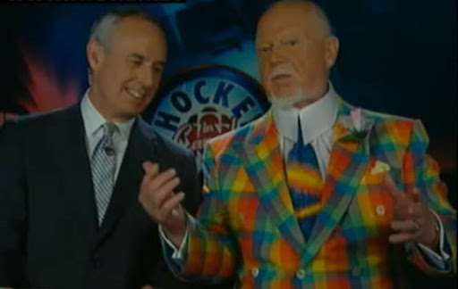 Don Cherry calls out Boston Bruin Andrew Ference for the Daniel Paille hit