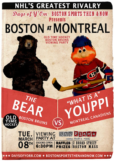 The Bear vs. Youppi - Bruins vs. Habs