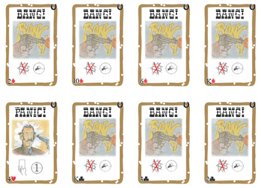 Robbers' Roost BANG! Playing Cards