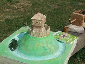 La tour sur une motte