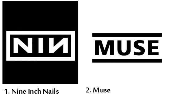 A NME elegeu: os logos mais bonitos de bandas